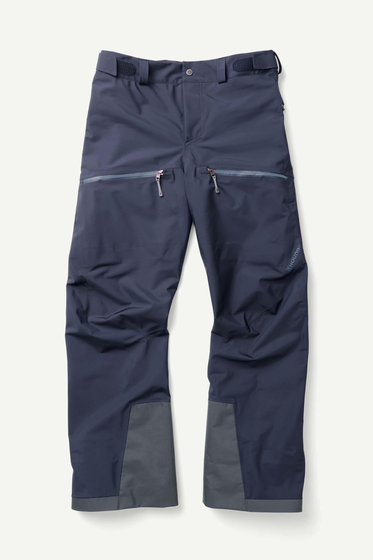Man/'s New Down Pants Nylon Warm Jogging Wet-look Winter Training Long Trousers